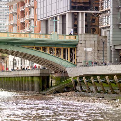 bridge over water in london