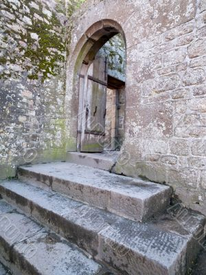 Aged Open Door