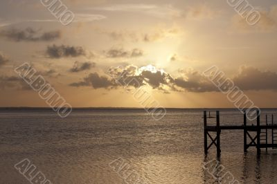 Sunset in Abaco