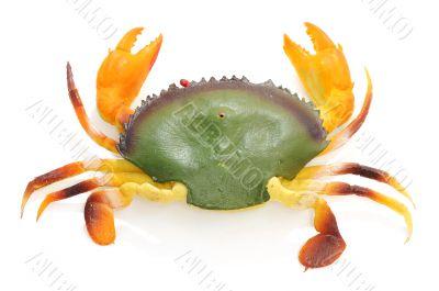 Plastic toy of crab