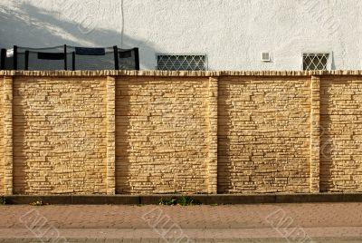 Built wall