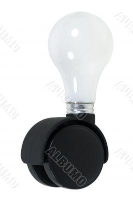 Lightbult on Roller