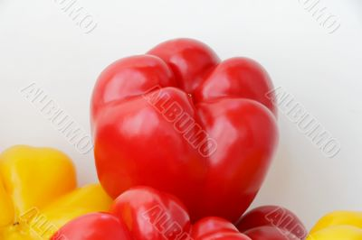 Red raw pepper