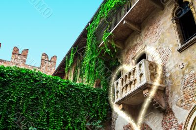 Balcony of love