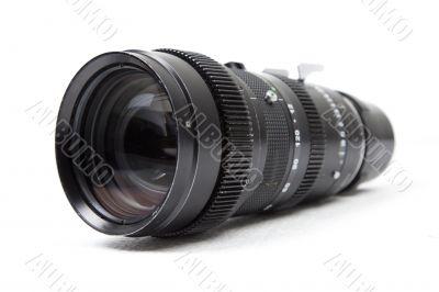 Telephoto zoom camera lens