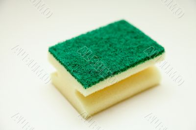 sponge for cleaning and kitchen hygiene