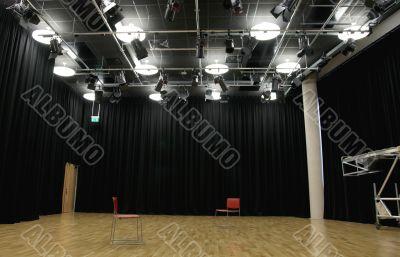 Actor`s rehearsal studio