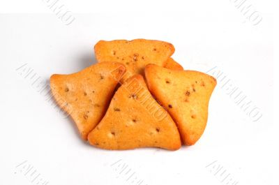 Crispy vegetable crackers