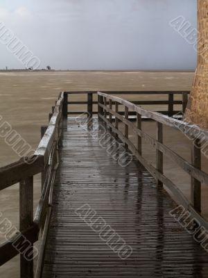 wet walkway