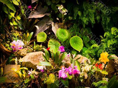 Quaint Garden Scene
