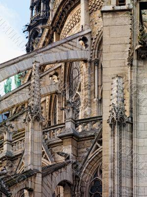 Side of Notre Dame