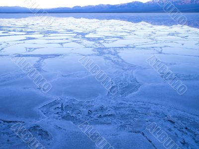 death valleys salt flats