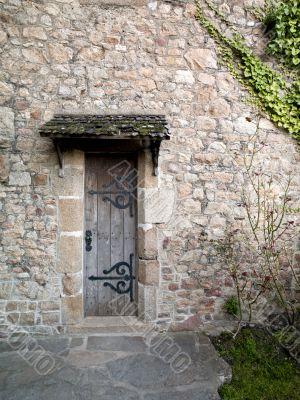 small vintage door