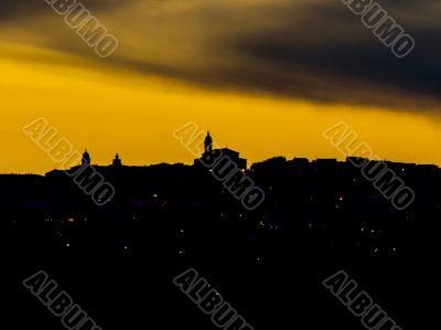 tuscanys silhouette