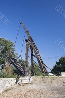bridge in arles