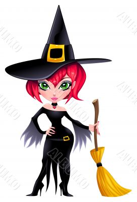 Funny witch.