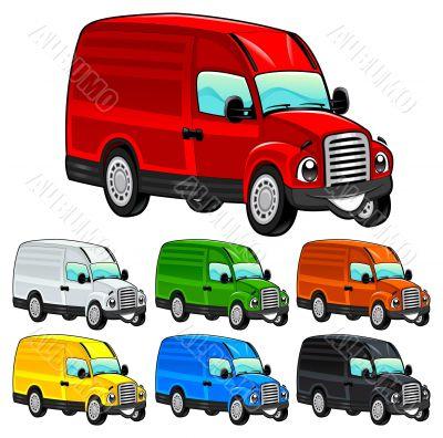 Funny van.