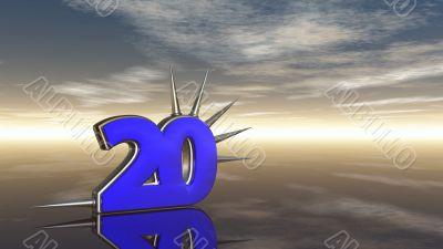 number twenty
