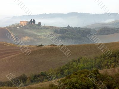 Tuscan in the Fall