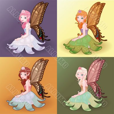 Young fairies.