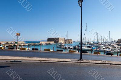 The Venetian fortress Koules