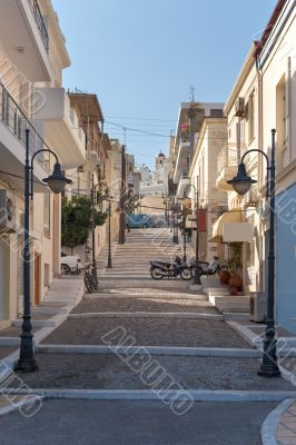 Street city of Sitia