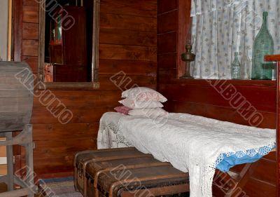 Sleeping area.