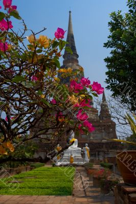 Temple at Wat Phra Si Sanphet
