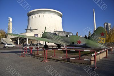 Soviet military airplan and museum