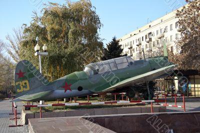 Soviet military airplane