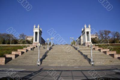 Stairs in Volgograd