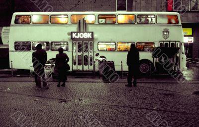 Kiosk bus