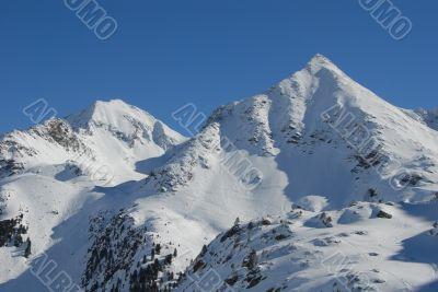 Mountains in Kühtai