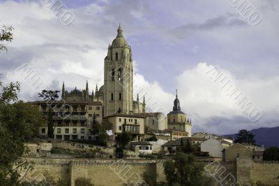 Segovia Cathedral, Castilla Leon, Spain