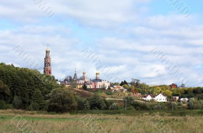 Orthodox monastery in the Central Russian region