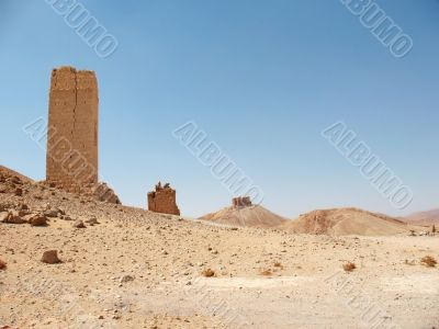 Ruins of ancient Palmyra