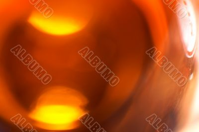Beer bottle abstract