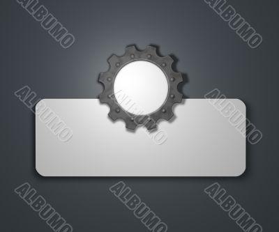 gear wheel banner