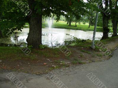 Fountain in Sigulda