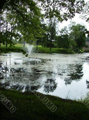 Sigulda's Fountain