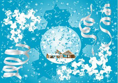 Blue Christmas fantasy