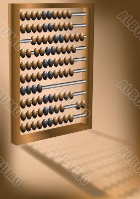 retro abacus