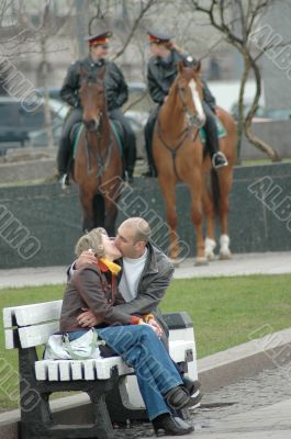 Guard of kiss