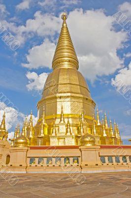 temple Phra Bat Huai Tom.