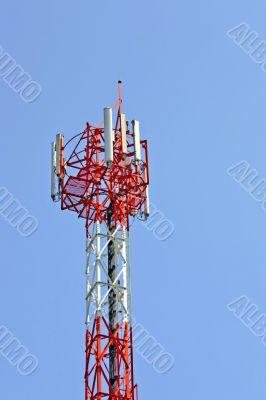 Radio antenna. Phones.