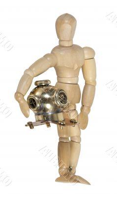 Carrying Diving Helmet