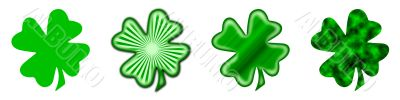 Big Saint Patrick`s shamrock