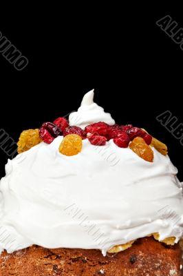 Christmas creamy cake profile