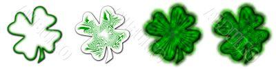 Big Saint Patrick`s shamrock