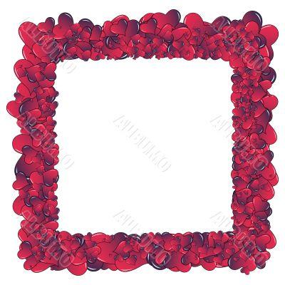 Hearts invasion frame